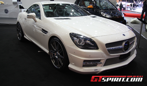 Geneva 2012 Mercedes-Benz SLK R172 by Carlsson