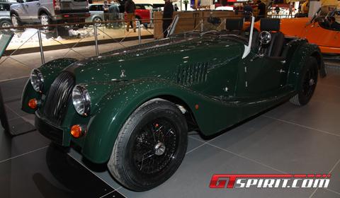 Geneva 2012 Morgan Roadster 3.7 liter