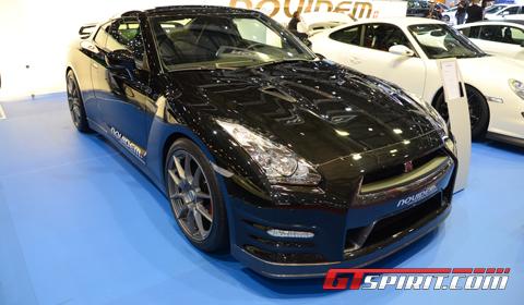 Geneva 2012 Novidem Nissan GT-R Black Edition
