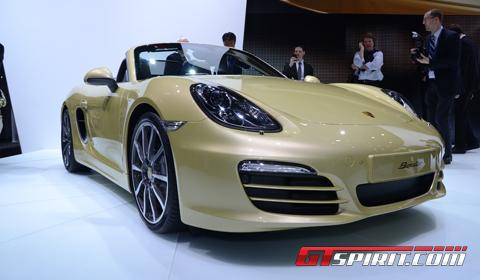 Geneva 2012 Porsche Boxter (S)