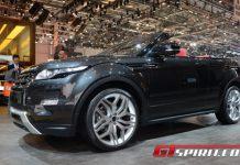 Geneva 2012 Range Rover Evoque Convertible Concept