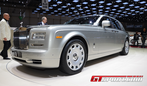 Geneva 2012 Rolls-Royce Phantom Series II Facelift