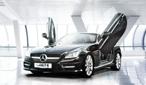 Mercedes-Benz SLK with LSD-doors