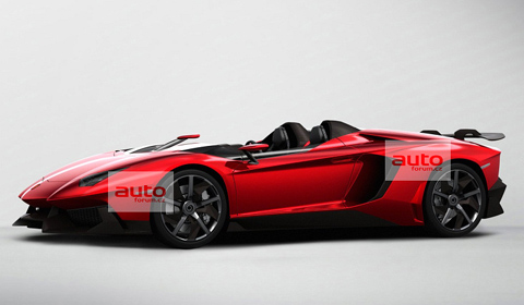 Lamborghini Aventador J Speedster