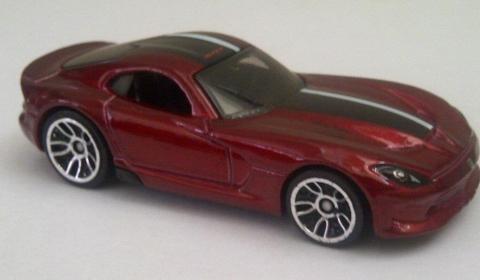 Leaked 2013 SRT Viper Hot Wheels Die Cast