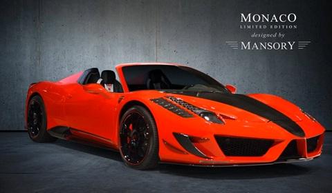 Mansory Monaco Ferrari 458 Spider