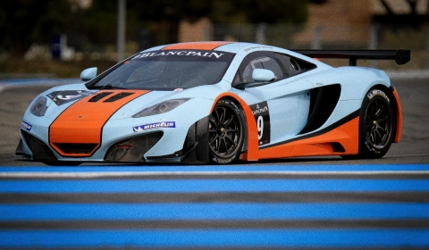 McLaren MP4-12C GT3 Racing Debut This Weekend