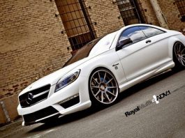 Mercedes-Benz CL 63 AMG with ADV.1 Wheels