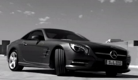 Mercedes Benz SL 480x280 Video: Mercedes Benz SL Class Commercial