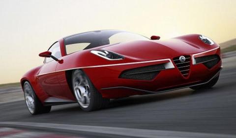 Official 2012 Carrozzeria Touring Disco Volante Concept