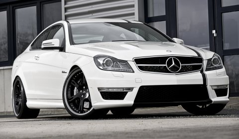 Official Mercedes-Benz C63 AMG Coupe 5.7 Edition by Wheelsandmore