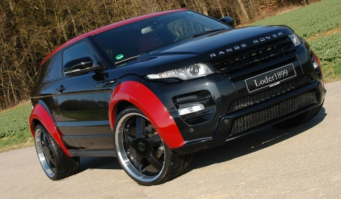 Official Range Rover Evoque Horus by Loder1899