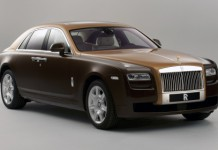 Official Two-Tone Rolls Royce Ghost Program
