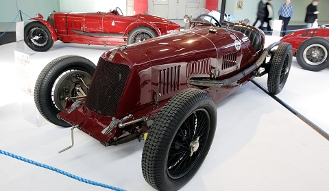 Old Time Show 2012 - A World of Maserati and Osca!
