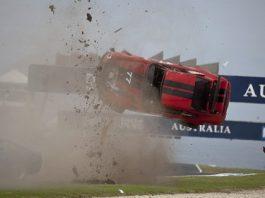 Philip Island Classic Porsche 911 Crash