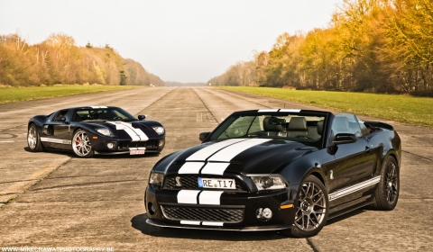 Photo Of The Day Ford GT vs Shelby GT500 Supersnake