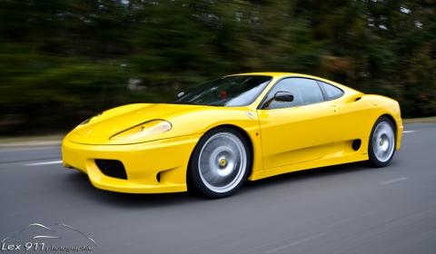 Photo Of The Day Yellow Ferrari 360 Challenge Stradale