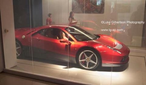 Spotted Eric Clapton's Ferrari V12 Boxer Tribute 01