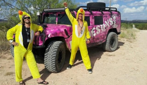 The Dudesons in Bullrun 2012