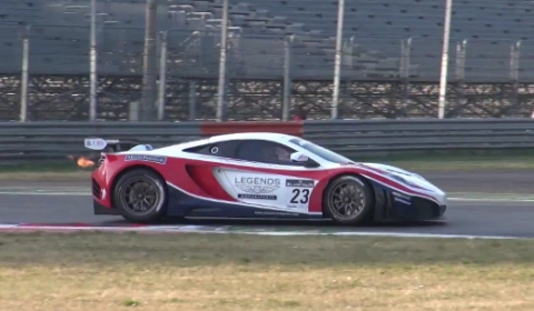 Video 2012 McLaren MP4-12C GT3 at Monza