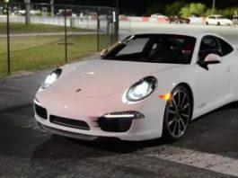 Video 2012 Porsche 911 (991) Carrera S Runs 12.04 on Quarter Mile
