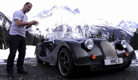 Video Chris Harris Drives New Morgan Plus 8 to Geneva