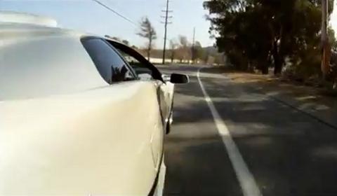Video Driving a 1998 Lamborghini Diablo SV Monterey Edition