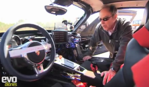Video EVO's Harry Metcalfe and the Porsche 918 Spyder