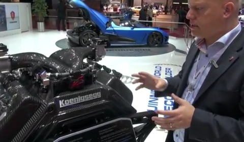 Video In Detail 2013 Koenigsegg Agera R Engine with Christian von Koenigsegg