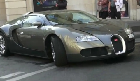Video Samuel Eto'o Driving His Bugatti Veyron in Paris