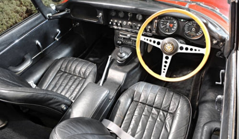 For Sale Sir Elton John's 1965 Jaguar E-Type 01