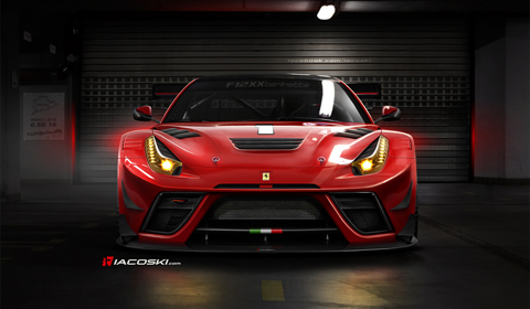 Rendered: Ferrari F12XX Berlinetta by Iacoski Design
