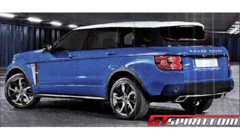 Leaked These Pictures Show New Range Rover?