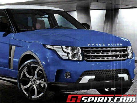 Leaked These Pictures Show New Range Rover? 01