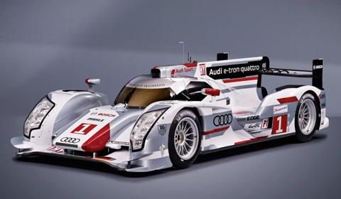 Official Audi R18 E-tron Hybrid Quattro Racer