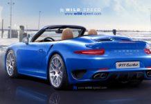 Render 2013 Porsche 911 (991) Turbo Convertible by Wild-Speed