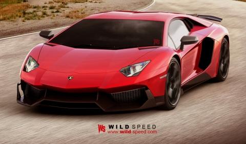 Render Lamborghini Aventador SV by Wild-Speed