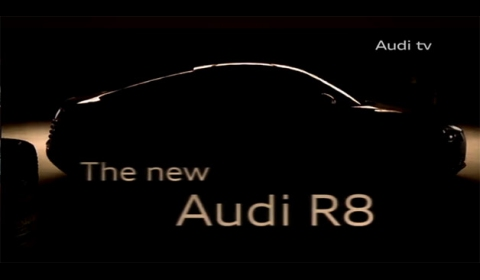 Teaser Video 2013 Audi R8