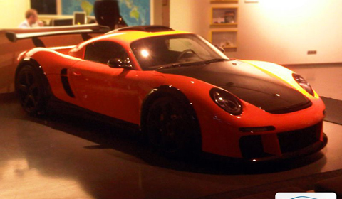 This is the RUF CTR3 Clubsport