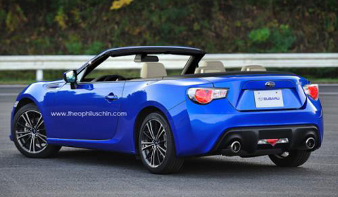 Toyota GT-86 Convertible 01