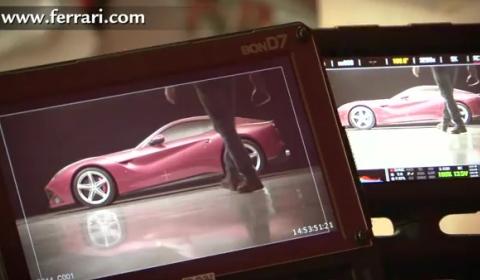 Video Ferrari F12 Berlinetta - Behind The Scenes