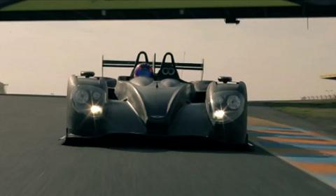 Video Morgan Returns to Le Mans 2012