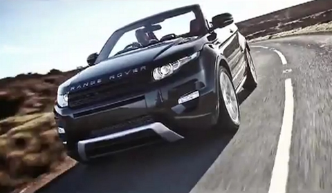 Video Range Rover Evoque Convertible in Action