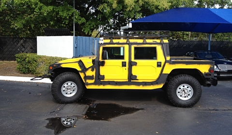 Hummer H1 Ruined Wrap