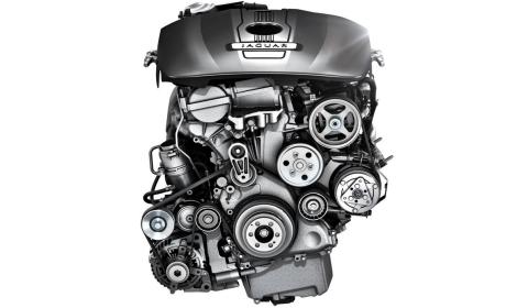 2.0 liter four-cylinder turbocharged petrol engine
