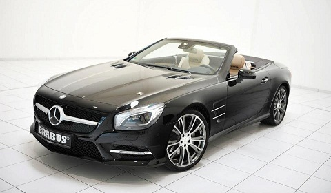 Brabus Start Work on 2012 Mercedes-Benz SL 500
