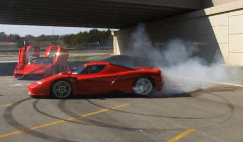 Ferrari Enzo's Help Austin Local Cancer Support Charity