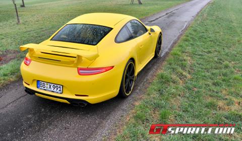 First Drive TechArt Program for 2012 Porsche 911 (991) 02