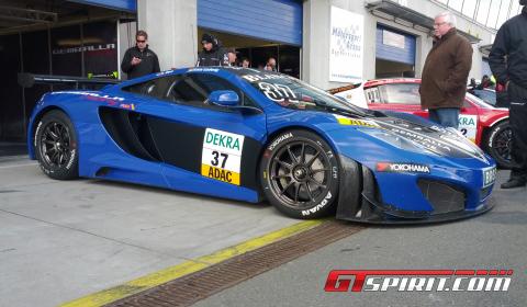 Gemballa Racing Team Starts 2012 Season in ADAC GT Masters
