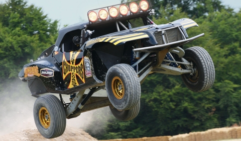 Jesse James Returns to Goodwood Festival of Speed 2012
